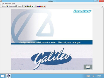 Landini EPC Galileo v8.0 Multilanguage