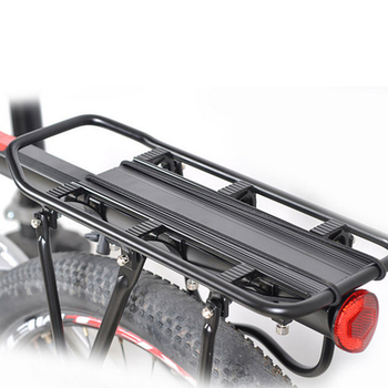 Bicycle Racks Aluminum Alloy Bicycle Luggage Carrier Bicycle Mountain Bike Road Bike Rear Rack Install Component Max 25KG