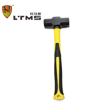 2LB Aluminium Alloy Casting Hammer Multifunctional hammer Shock Proof Handle Octagonal Hammer Tool